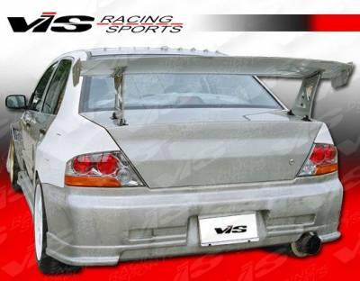 Evolution 8 - Rear Bumper - VIS Racing - Mitsubishi Evolution 8 VIS Racing GTC Rear Bumper - 03MTEV84DGTC-002