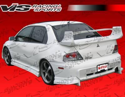 Evolution 8 - Rear Bumper - VIS Racing - Mitsubishi Evolution 8 VIS Racing Invader Rear Bumper - 03MTEV84DINV-002