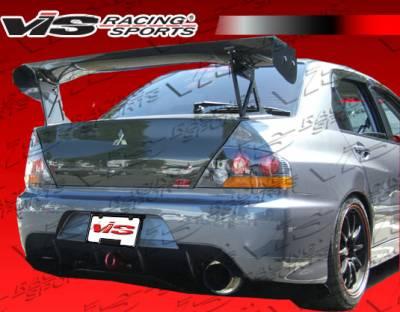 Evolution 8 - Rear Bumper - VIS Racing - Mitsubishi Evolution 8 VIS Racing MR Rear Bumper - 03MTEV84DMR-002