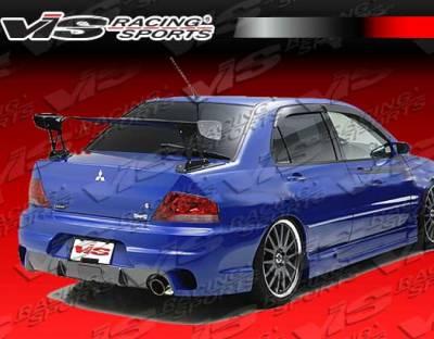Evolution 8 - Rear Bumper - VIS Racing - Mitsubishi Evolution 8 VIS Racing Wings Rear Bumper - 03MTEV84DWIN-002