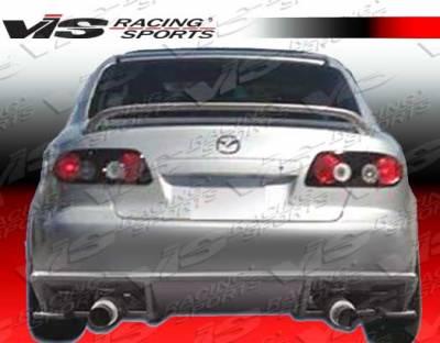 6 4Dr - Rear Bumper - VIS Racing. - Mazda 6 VIS Racing Ballistix Rear Bumper - 03MZ64DBX-002