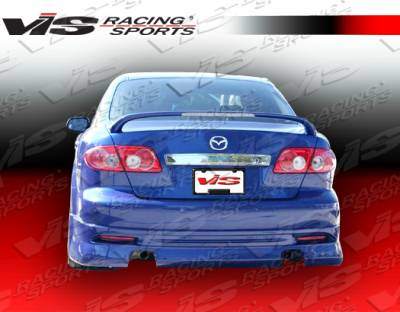 6 4Dr - Rear Bumper - VIS Racing - Mazda 6 VIS Racing K Speed Rear Lip - 03MZ64DKSP-012