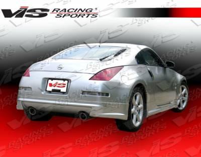 350Z - Rear Bumper - VIS Racing - Nissan 350Z VIS Racing AMS Rear Lip - 03NS3502DAMS-012