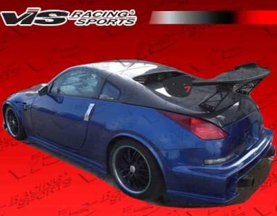350Z - Rear Bumper - VIS Racing - Nissan 350Z VIS Racing Astek Rear Bumper - 03NS3502DAST-002