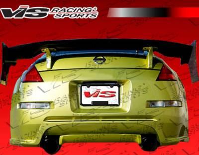 350Z - Rear Bumper - VIS Racing - Nissan 350Z VIS Racing Demon Rear Bumper - 03NS3502DDEM-002