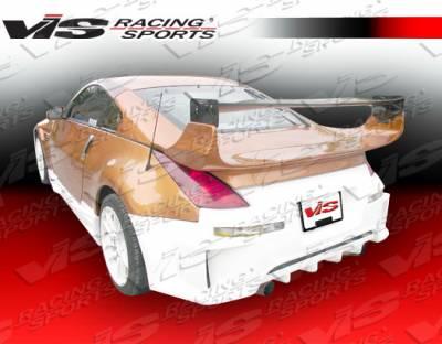 350Z - Rear Bumper - VIS Racing - Nissan 350Z VIS Racing Fuzion Rear Bumper - 03NS3502DFUZ-002