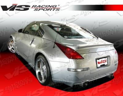 350Z - Rear Bumper - VIS Racing - Nissan 350Z VIS Racing Invader-1 Rear Lip - 03NS3502DINV1-012