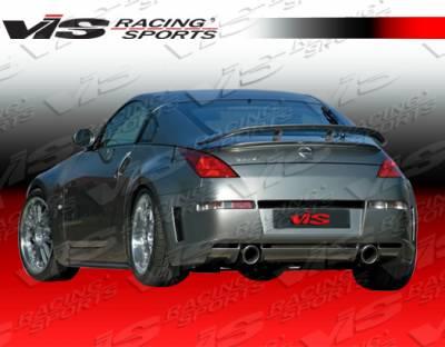 350Z - Rear Bumper - VIS Racing - Nissan 350Z VIS Racing Milano Rear Bumper - 03NS3502DMIL-002
