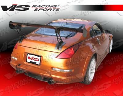 350Z - Rear Bumper - VIS Racing - Nissan 350Z VIS Racing Tracer FX Rear Bumper - 03NS3502DTRAFX-002