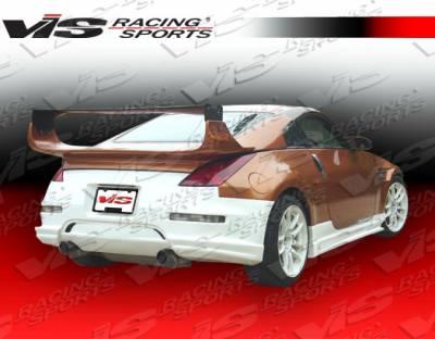 350Z - Rear Bumper - VIS Racing - Nissan 350Z VIS Racing Tracer GT Rear Bumper - 03NS3502DTRAGT-002