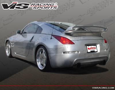 350Z - Rear Bumper - VIS Racing - Nissan 350Z VIS Racing VIP Rear Lip - 03NS3502DVIP-012