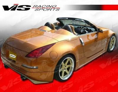 350Z - Rear Bumper - VIS Racing - Nissan 350Z VIS Racing V Spec Rear Lip - 03NS3502DVSC-012