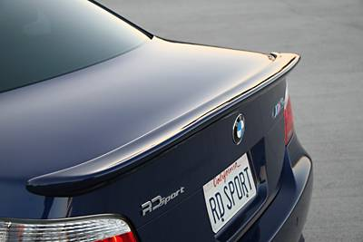 RD Sport - E60 and M5 Rear Spoiler