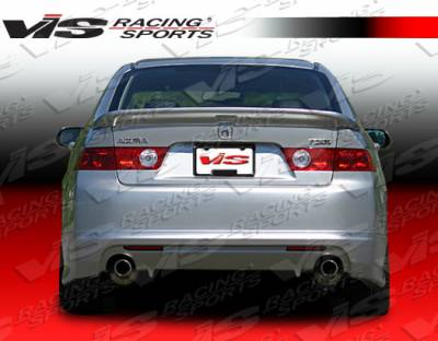 TSX - Rear Bumper - VIS Racing - Acura TSX VIS Racing Techno R Rear Lip - 04ACTSX4DTNR-012