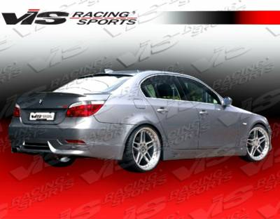 5 Series - Rear Bumper - VIS Racing - BMW 5 Series VIS Racing A Tech Rear Lip - 04BME604DATH-012