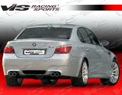 5 Series - Rear Bumper - VIS Racing - BMW 5 Series VIS Racing M-5 Rear Bumper - 04BME604DM5-002