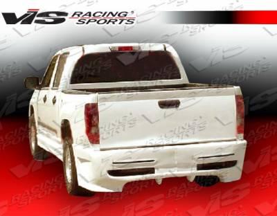 Colorado - Rear Bumper - VIS Racing - Chevrolet Colorado VIS Racing Outcast Rear Bumper - 04CHCOL4DOC-002