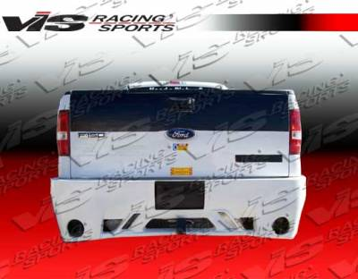 F150 - Rear Bumper - VIS Racing - Ford F150 VIS Racing VIP Rear Bumper - 04FDF152DVIP-002