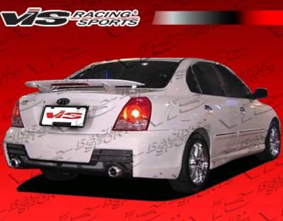 Elantra 4Dr - Rear Bumper - VIS Racing - Hyundai Elantra 4DR VIS Racing B Max Rear Bumper - 04HYELA4DBMAX-002