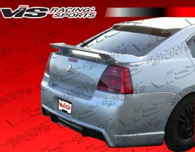 Galant - Rear Bumper - VIS Racing - Mitsubishi Galant VIS Racing G Speed Rear Bumper - 04MTGAL4DGSP-002