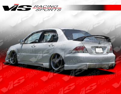 Lancer - Rear Bumper - VIS Racing - Mitsubishi Lancer VIS Racing Rally Rear Bumper - 04MTLAN4DRAL-002