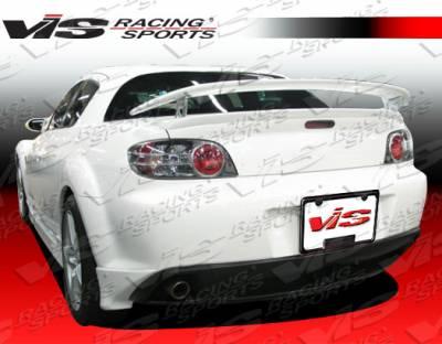 RX8 - Rear Bumper - VIS Racing - Mazda RX-8 VIS Racing G-Speed Rear Bumper - 04MZRX82DGSP-012