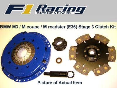Performance Parts - Performance Clutches - Custom - BMW Stage 3 Clutch Kit
