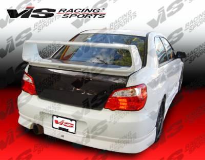 WRX - Rear Bumper - VIS Racing - Subaru WRX VIS Racing Z Speed Rear Lip - 04SBWRX4DZSP-012