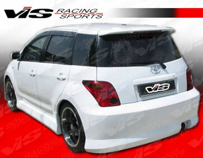 XA - Rear Bumper - VIS Racing - Scion xA VIS Racing Falcon Rear Bumper - 04SNXA4DFAL-002