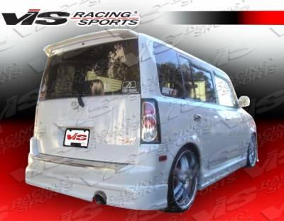 XB - Rear Bumper - VIS Racing - Scion xB VIS Racing Formula-1 Rear Lip - 04SNXB4DF1-012