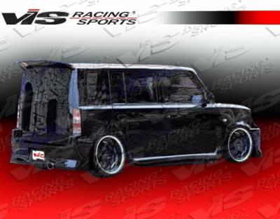 XB - Rear Bumper - VIS Racing - Scion xB VIS Racing VIP Rear Bumper - 04SNXB4DVIP-002