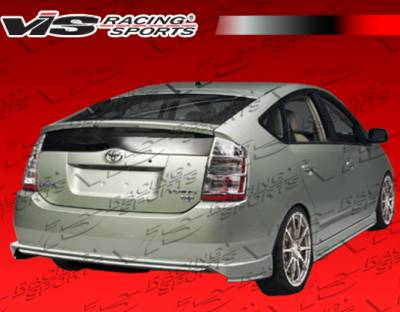 Prius - Rear Bumper - VIS Racing - Toyota Prius VIS Racing JPC Rear Lip - 04TYPRI4DJPC-012P
