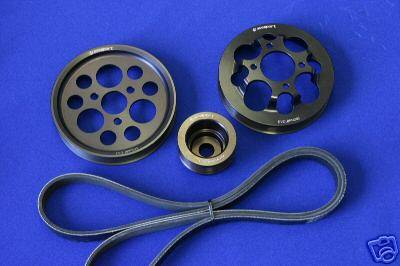Performance Parts - Pulleys - Custom - E36 Underdrive Pulley Kit