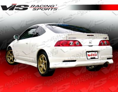 RSX - Rear Bumper - VIS Racing - Acura RSX VIS Racing Techno R-2 Rear Lip - Carbon Fiber - 05ACRSX2DTNR2-012C