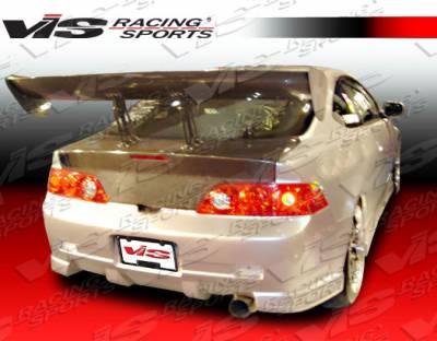 RSX - Rear Bumper - VIS Racing - Acura RSX VIS Racing Tracer Rear Bumper - 05ACRSX2DTRA-002