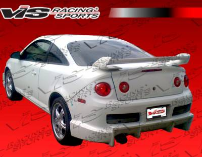 Cobalt 2Dr - Rear Bumper - VIS Racing - Chevrolet Cobalt 2DR VIS Racing Ballistix Rear Bumper - 05CHCOB2DBX-002