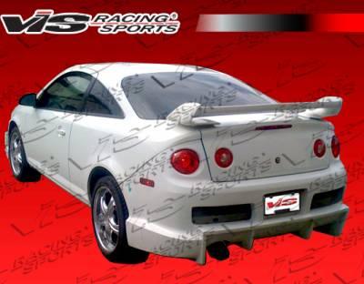 Cobalt 4Dr - Rear Bumper - VIS Racing - Chevrolet Cobalt 4DR VIS Racing Ballistix Rear Bumper - 05CHCOB4DBX-002
