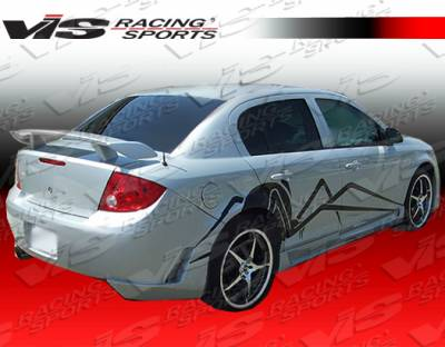 Cobalt 4Dr - Rear Bumper - VIS Racing - Chevrolet Cobalt 4DR VIS Racing Touring Rear Bumper - 05CHCOB4DTOU-002
