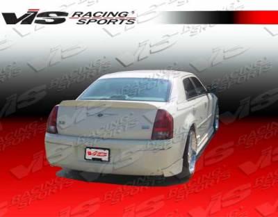 300 - Rear Bumper - VIS Racing - Chrysler 300 VIS Racing VIP Rear Lip - 05CY3004DVIP-012