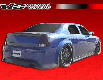 300 - Rear Bumper - VIS Racing - Chrysler 300 VIS Racing VIP-4 Rear Bumper - 05CY3004DVIP4-002