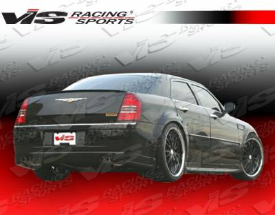 300 - Rear Bumper - VIS Racing - Chrysler 300 VIS Racing Ballistix Rear Lip - 05CY300C4DBX-012