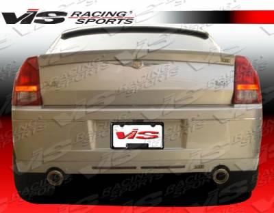 300 - Rear Bumper - VIS Racing - Chrysler 300 VIS Racing VIP Rear Lip - 05CY300C4DVIP-012