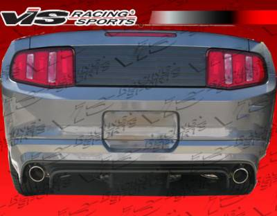 Mustang - Rear Bumper - VIS Racing - Ford Mustang VIS Racing Burn out Rear Bumper - 05FDMUS2DBO-002