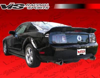 Mustang - Rear Bumper - VIS Racing. - Ford Mustang VIS Racing Ballistix Rear Bumper - 05FDMUS2DBX-002