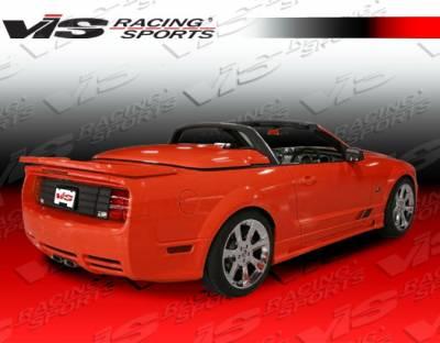 Mustang - Rear Bumper - VIS Racing - Ford Mustang VIS Racing Stalker Rear Bumper - 05FDMUS2DSTK-002