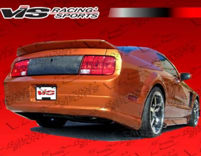 Mustang - Rear Bumper - VIS Racing - Ford Mustang VIS Racing Stalker-2 Rear Lip - 05FDMUS2DSTK2-012