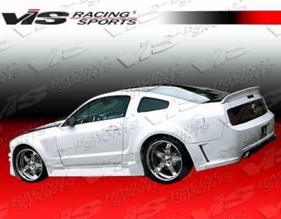 Mustang - Rear Bumper - VIS Racing. - Ford Mustang VIS Racing TSW Rear Bumper - 05FDMUS2DTSW-002