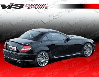 SLK - Rear Bumper - VIS Racing - Mercedes-Benz SLK VIS Racing C Tech Rear Lip - 05MER1712DCTH-012