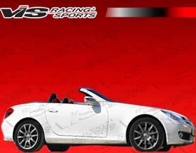 SLK - Rear Bumper - VIS Racing - Mercedes-Benz SLK VIS Racing Euro Tech 2K Rear Bumper - 05MER1712DET2K-004