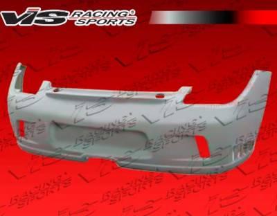 Boxster - Rear Bumper - VIS Racing - Porsche Boxster VIS Racing D2 Rear Bumper - 05PSBOX2DD2-002